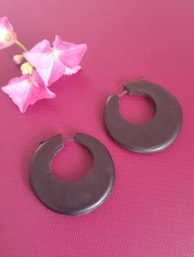 Tibetan Big Hoop Earrings