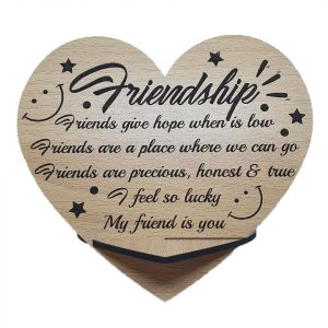 Friendship Plaque