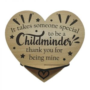 Childminder Plaque