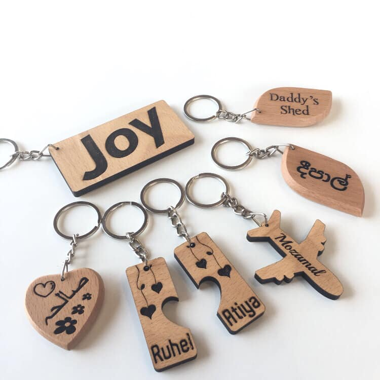 Unique Designs Key fobs