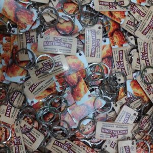 Business promotional keyrings