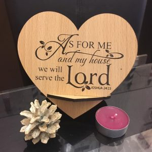Bible Scripture Plaque