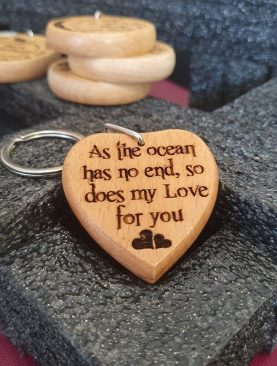 As the ocean has no end, so does my love for you