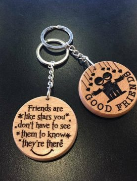Friends are like a stars you don't have to see them to know they're there