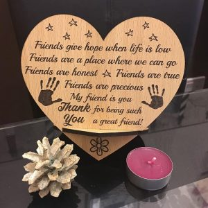 Best Friend Novelty Plaque