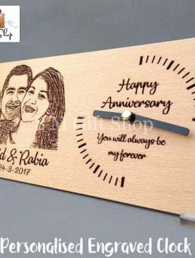 Anniversary Clock Plaque