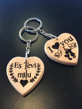 I love you Es Tevi mīlu
