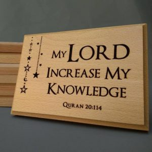Lord increase my knowledge