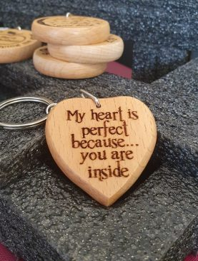 My heart is perfect because ... you are inside