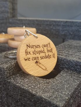Nurses can't fix stupid but we can sedate it