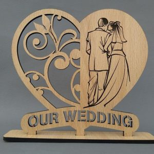 Our Wedding Plaque