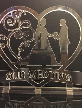Our Wedding Acrylic Plaque