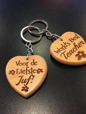 For the dearest teacher, Voor de liefste Juf