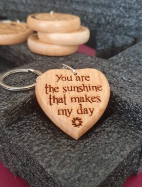 You are the sunshine that makes my day