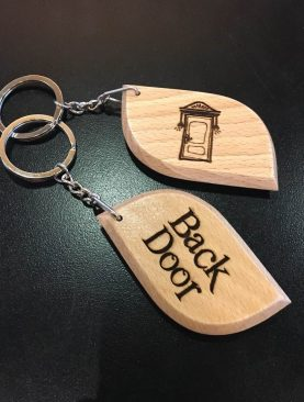 Back Door Keychain