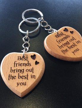 Best friends bring out the best in you