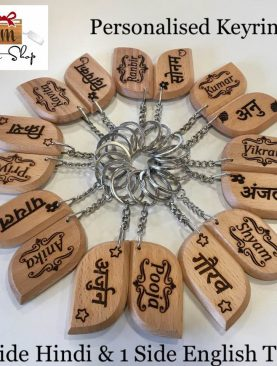 Personalised Names Keyrings