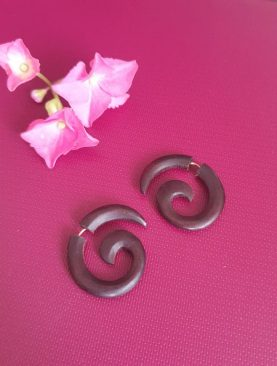 Best Design Wooden Earrings