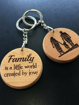 Family is little a world created by love