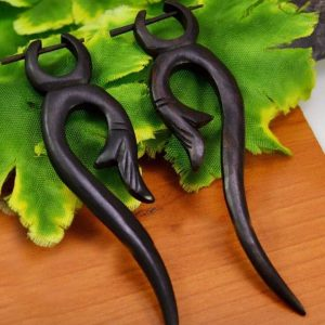 Tribal Traditional Stick Earrings