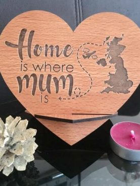 Home is where Mum is Plaque