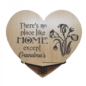 Grandma Heart Plaque