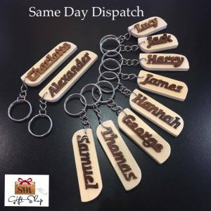 Handmade Personalised Name Keyring
