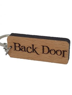 Back Door Keyring