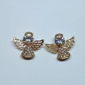 Angel Zirconia Stud Earrings