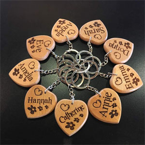 Personalised Keyrings & Keychains