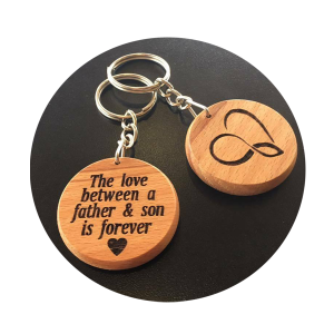 Father Son Keyring