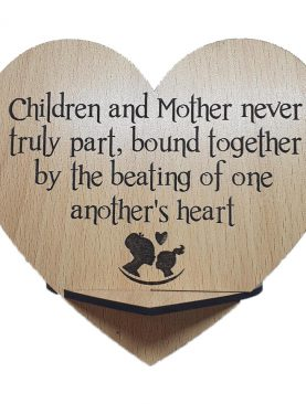 Children and Mother Plaque
