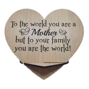 mother is the world plaque